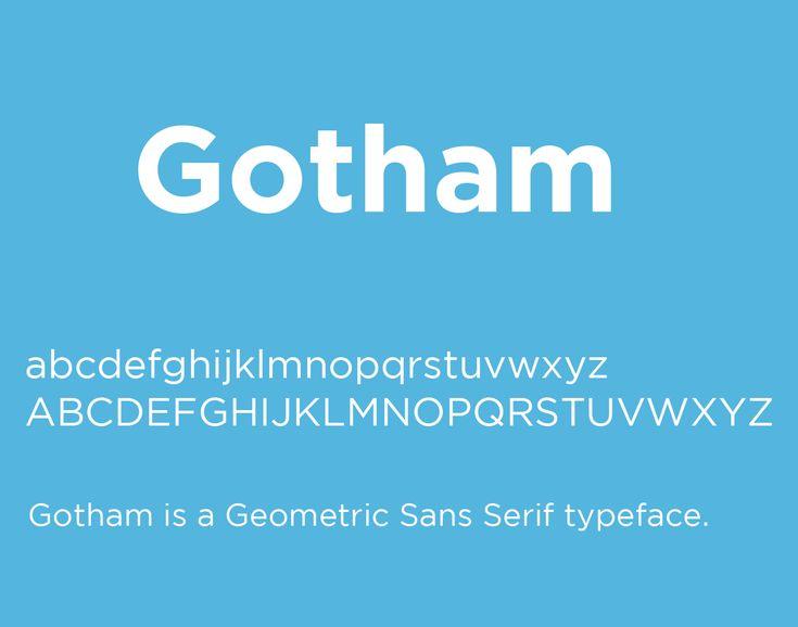 Gotham Font Family Free Download - Free Fonts