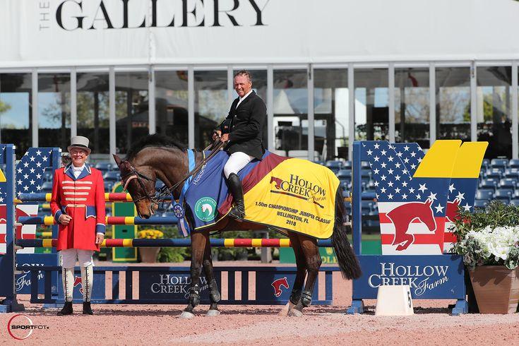 El jinete estadounidense Todd Minikus se llevó la primera victoria de la Serie Hollow Creek Championship Class en el inicio del Winter Equestrian Festival en Wellington.