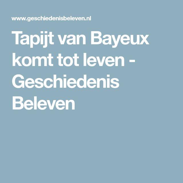 Tapijt van Bayeux komt tot leven - Geschiedenis Beleven