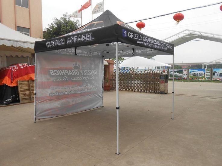 Heat Transfer Printing Steel Frame Promotional Tent 3x3m 4