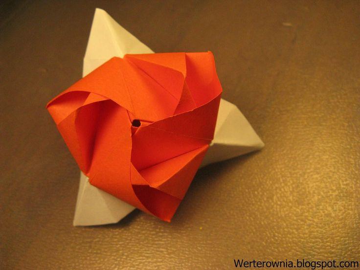 #origami #Werterownia #diy #biało-czerwone