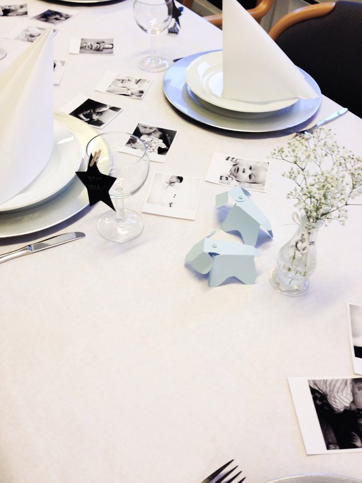 Tablesetting for my boys christening ❤️