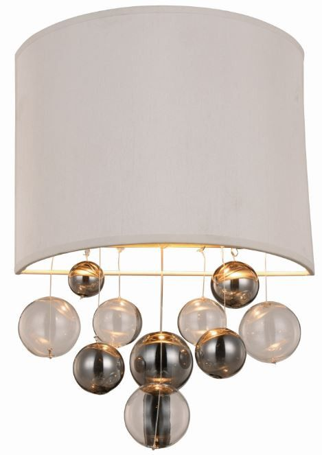 """Milan Collection Wall Sconce W:10"""" H:16"""" E:4"""" Lt:1 Vintage Nickel Finish. Milan Collection Wall Sconce W:10"""" H:16"""" E:4"""" Lt:1 Vintage Nickel Finish  Watts: Lumens: Lamp Type: Shape: Style:Transitional Light Bulbs:1 Bulb Type:E12 Bulb Wattage:40 Max Wattage:40 Voltage:110V-125V Finish:Vintage Nickel Crystal Trim: Crystal Color: Hanging Weight:2"""