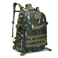 40L Military Tactical Backpack Large Capacity Hiking Camping Camouflage Backpack Outdoor Climbing Bag Travel Mochila