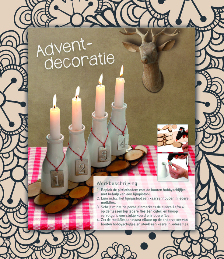 Advent decoratie