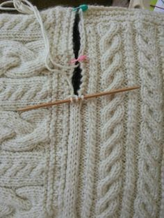 Join Blanket Squares with a 3 Stitch I-Cord. Scroll down page for method