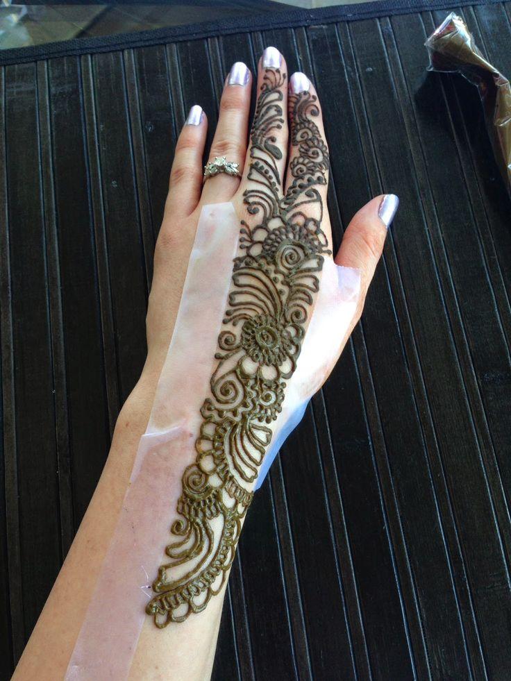 HennaArt.ca: Infinity Edge Design, step by step