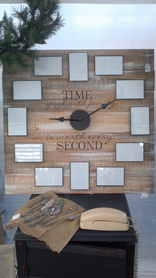 Another take on our awesome time spent with family clock #clock #vinyl #family https://www.facebook.com/Allison.UL