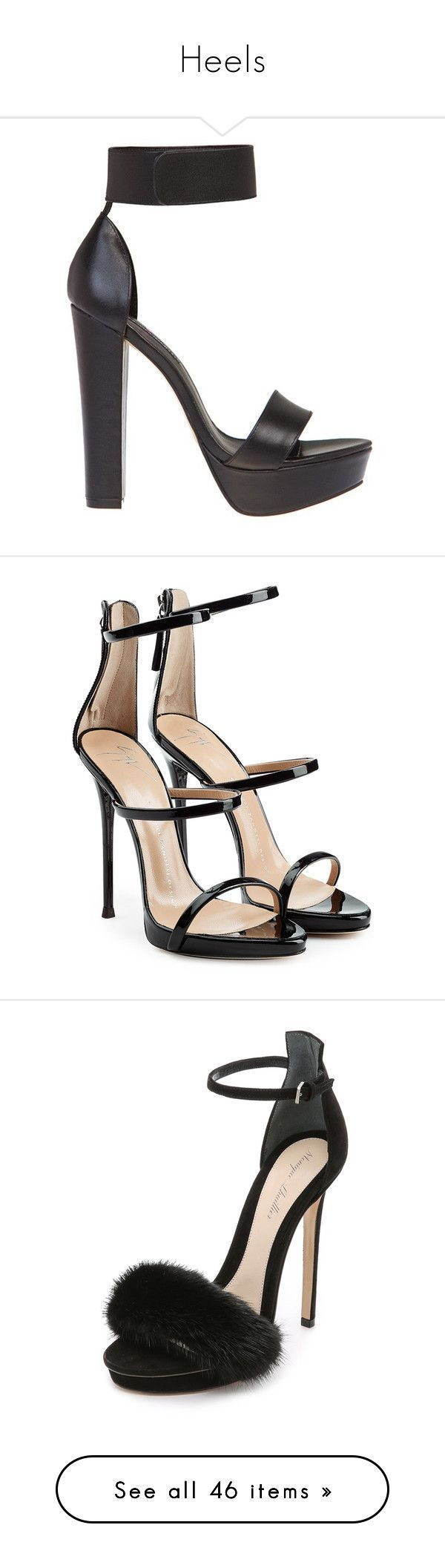 """Heels"" by isthelastofus ❤ liked on Polyvore featuring shoes, heels, high heels, sandals, ankle strap shoes, ankle strap platform shoes, windsor smith shoes, high heel platform shoes, ankle tie shoes and giuseppe zanotti #giuseppezanottiheelssandals #platformhighheelsanklestraps"