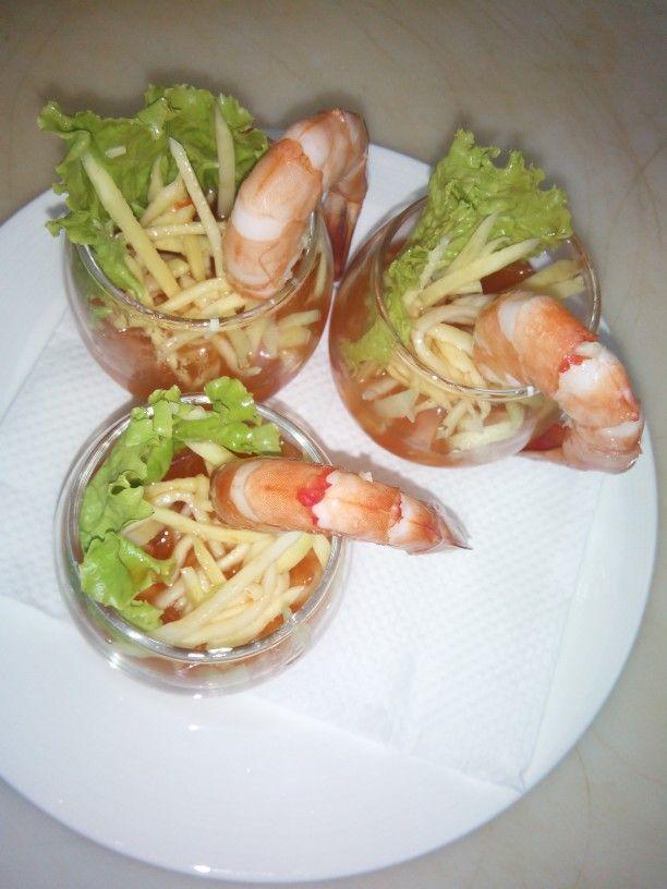 The Shrimp Salad