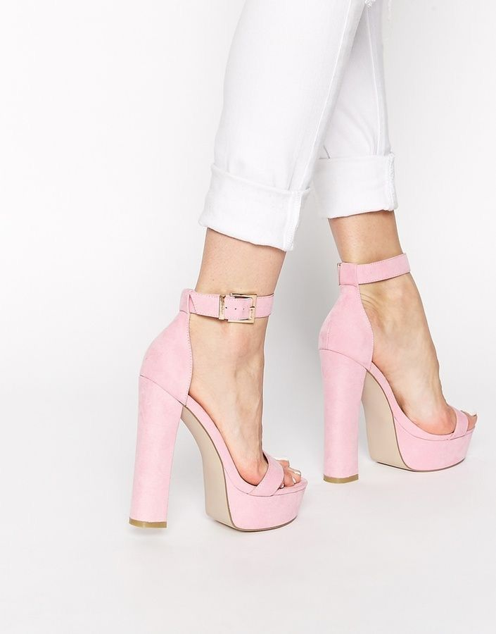 46ae0c37ab36 Nice Pink high heel Shoes