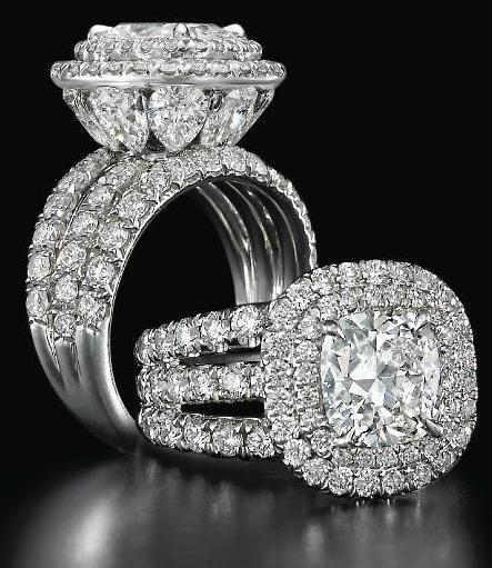 Charles Elliott Krypell diamond ring. - Style Estate -