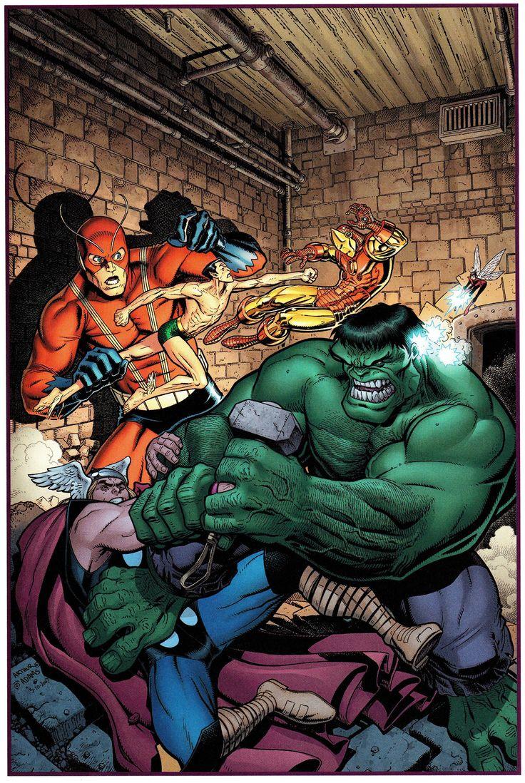 The Avengers: Art Adams & Laura Martin