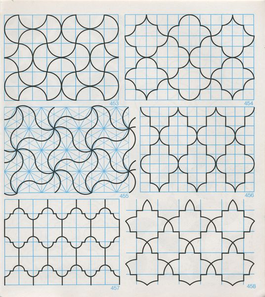 Gpb 059 Geometric Patterns Borders David Wade Pattern In