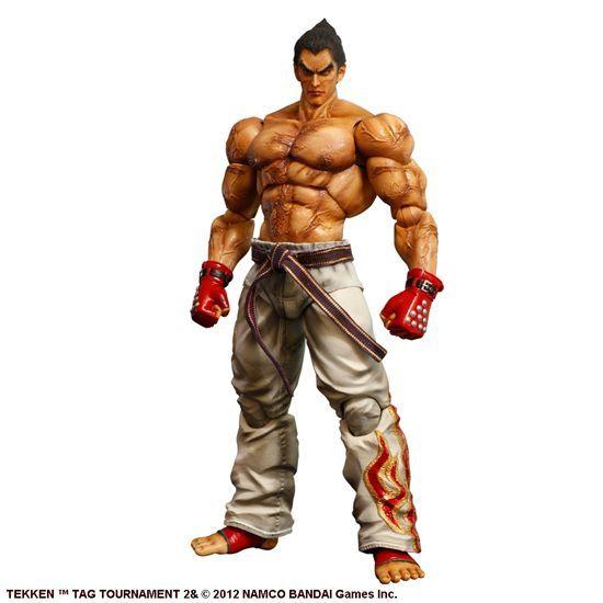 Kirin Hobby : Tekken Tag Tournament 2 Play Arts Kai: Kazuya Mishima Action Figure 662248812366