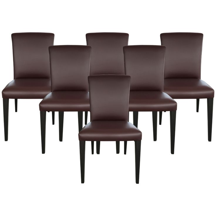 Best 25+ Leather Dining Chairs Ideas On Pinterest | Modern Dining