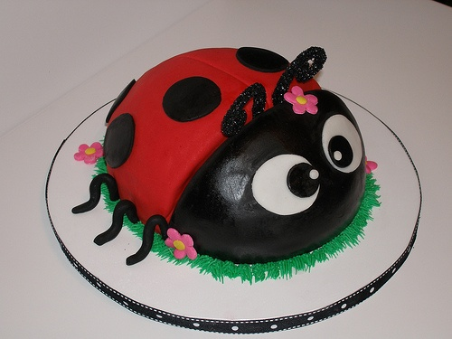 Ladybug Cake by Lecake, via Flickr: Bugs Birthday Parties, Ladybugs Cakes, Bug Birthday Parties, Bugs Parties, Ladybug Cakes, Cakes Cupcakes Ideas, Cakes Ideas For, Photo, Ladybugs Birthday