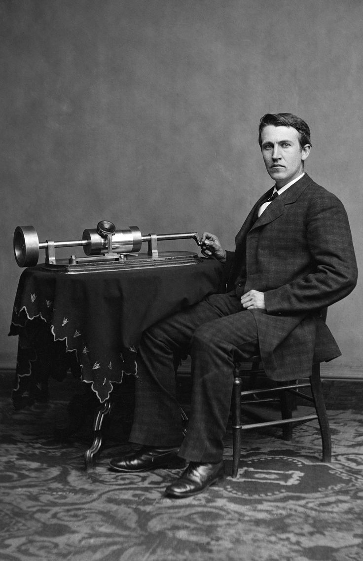 thesis of thomas edison