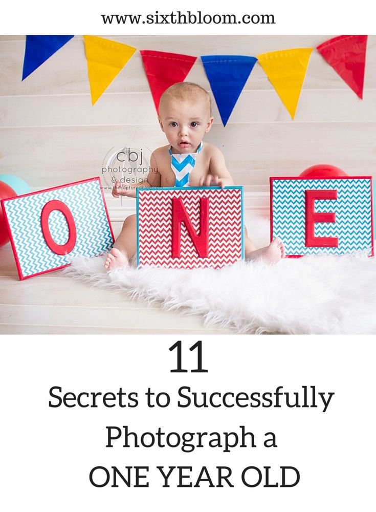 Photography Tips, Tips for one year old pictures, Tricks for one year old pictures
