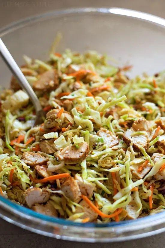 Sesame Coleslaw Salad – Life Made Simple