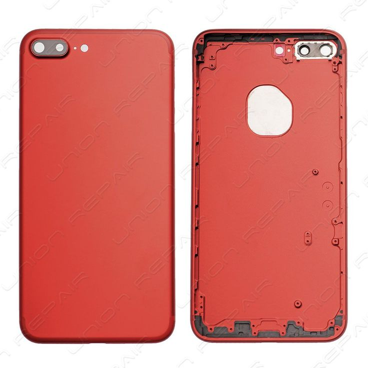 Replacement for Special Edition iPhone 7 Plus Back Cover - Red    Compatible With: Apple iPhone 7 Plus    Specification:  Color: Red  Material: Aluminum  Compatibility: For iPhone 7 Plus Special Edition...