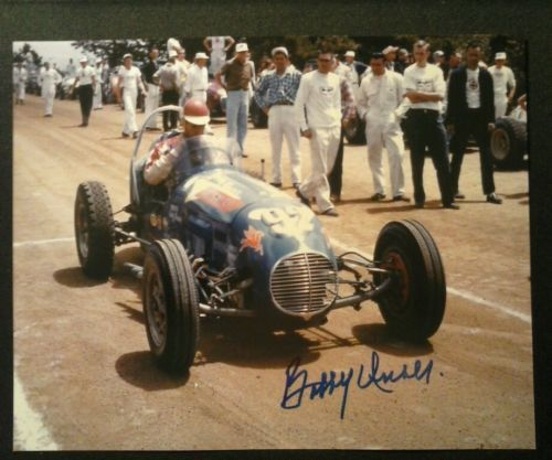 Bobby Unser Autographed Photo 1960 Pikes Peak Hill Climb