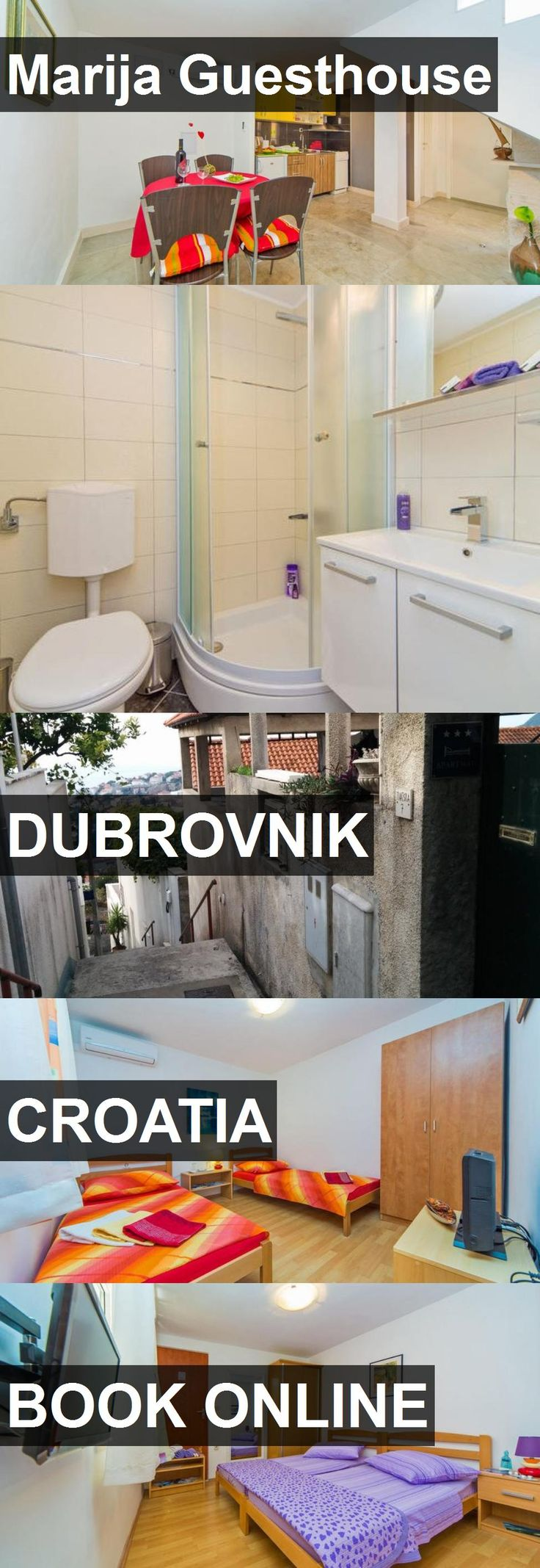 Hotel Marija Guesthouse in Dubrovnik, Croatia. For more information, photos, reviews and best prices please follow the link. #Croatia #Dubrovnik #MarijaGuesthouse #hotel #travel #vacation