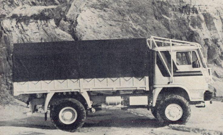 Liaz 100.55 Turbo 4x4 Paris-Dakar 1985