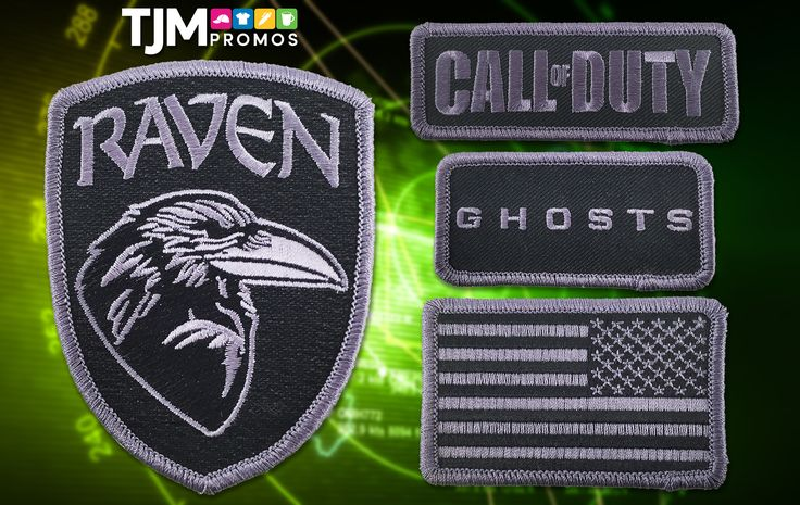 Patches for Raven Software, a video game developer working on the Call of Duty series!