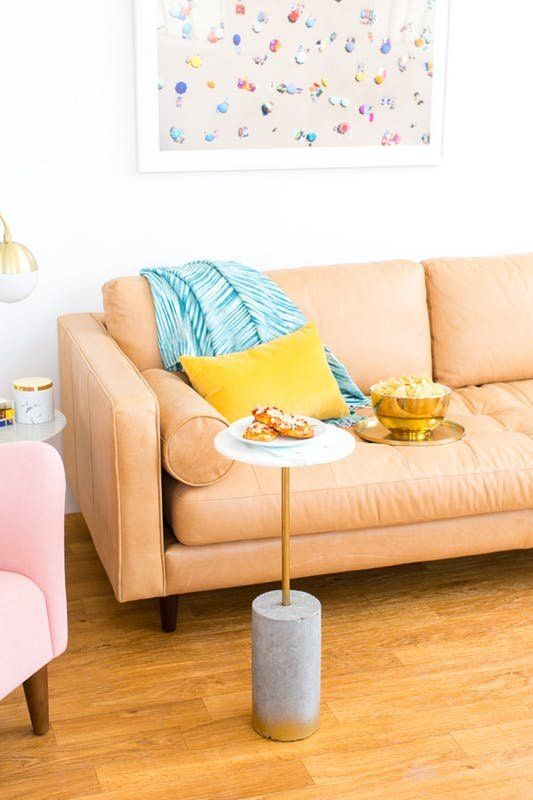 Small Living Room 7 Clever Substitutes For A Coffee Table