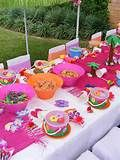 Kids Luau Party Ideas for Foods