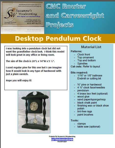 You Want To Build A Grandfather Clock With A Pendulum