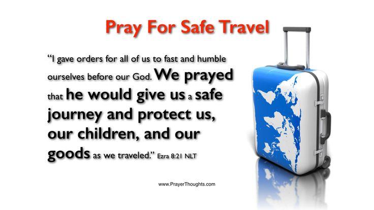 Prayer For Safe Journey