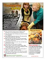 Here is a whole list of fire prevention and safety sheets from the National Fire Protection Association.