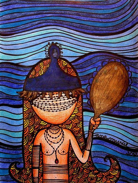Oxum by Ana Muriel