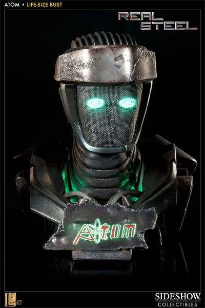 Sideshow Collectibles    Real Steel    Atom 1:1 Life Size Bust    http://www.sideshowtoy.com/?page_id=4489=400185#!prettyPhoto[product_gallery]/0/