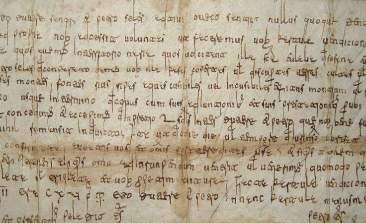 Types of Visigothic script (I): the speed of strokes