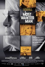 A Most Wanted Man-(2014)--Philip Seymour Hoffman, Rachel McAdams, Grigoriy Dobrygin, and Willem Dafoe