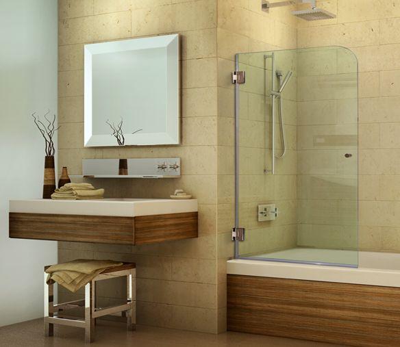 Custom Bathtub Screens | Customize The Screen Width U0026 Height, Glass Tint,  Hardware Finish