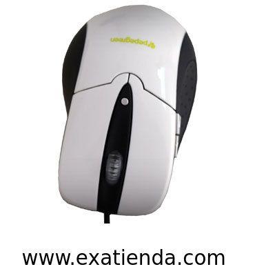 Ya disponible Rat?n Pepegreen USB blanco   (por sólo 13.89 € IVA incluído):   -Raton Optico con 800-1200 dpi de resolución, 5 botones  -Diseño ergonomico, -Tecnologia: Cable -Conexion puerto: USB  -La vida del micro interruptor es de unas 5 millones de pulsaciones -Compatible con: Windows 95/98/NT/ME/2000/XP/Vista/W7/MAC  -Color: Blanco  -P/N: MOU-1202-CA Garantía de 24 meses.  http://www.exabyteinformatica.com/tienda/1527-raton-pepegreen-usb-blanco #ps2/usb #exabytein