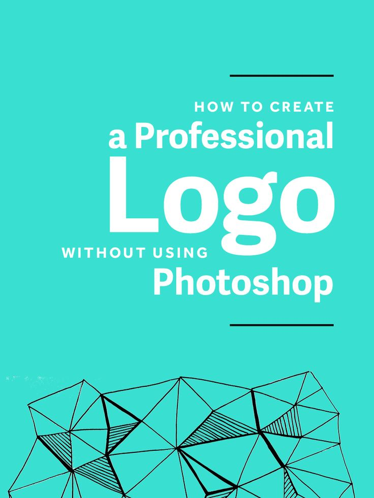 How To Create A Professional Logo WITHOUT Photoshop