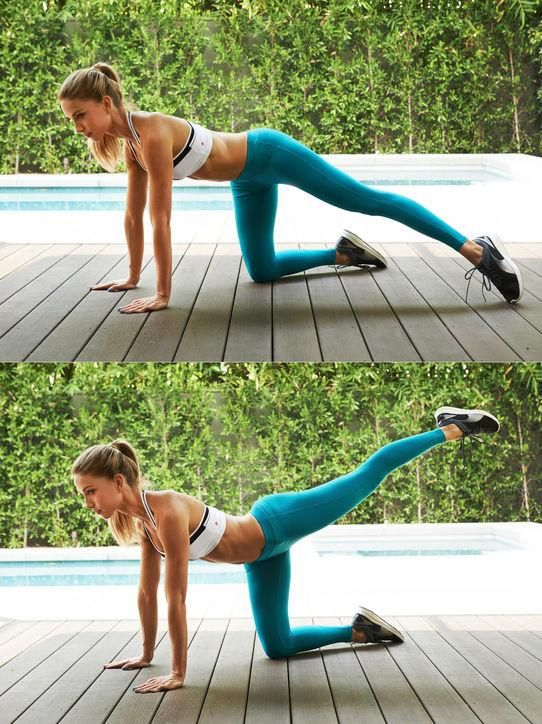 An all-over toning workout that's quick - see all the exercises here