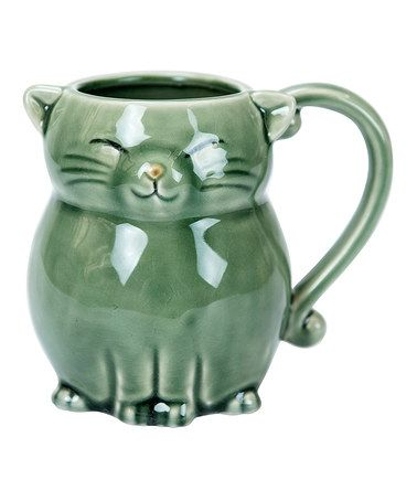 Another great find on #zulily! Cat Mug #zulilyfinds