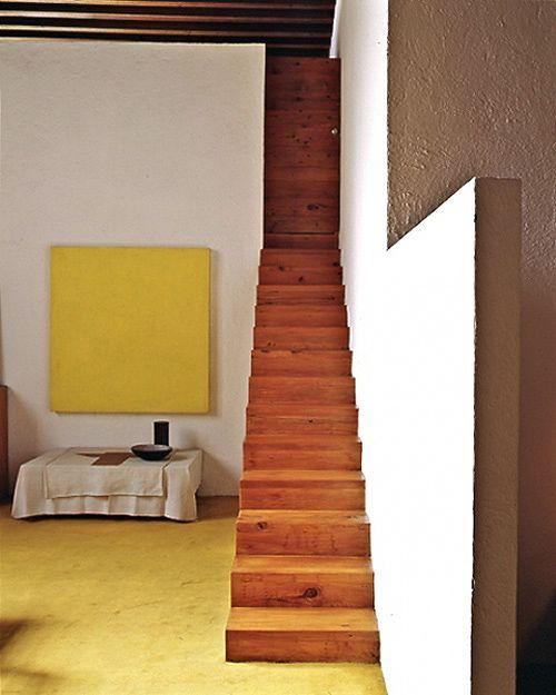 Barragan.: Interior Design, Stairs, Luis Barragán, Interiors, Staircase, Luis Barragan, Casa Luis, Architecture, Space