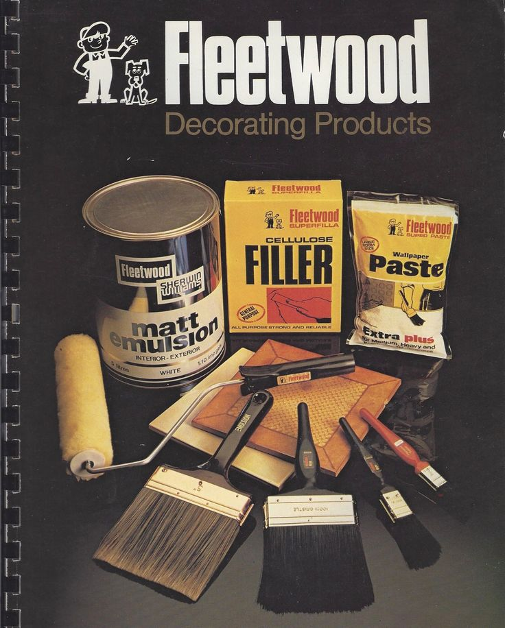 A Fleetwood decorating catalogue from the 1980's