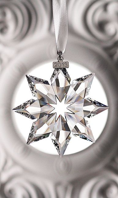 Swarovski Crystal Annual Edition Ornament, 2013