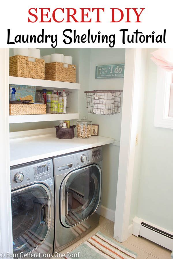Diy Folding Table And Basket Storage Laundry Room Laundry Room