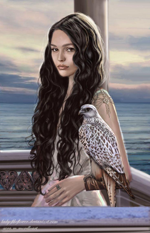Сильмариэн, несостоявшаяся королева Нуменора Lady of Andunie by Ladyoftheflower
