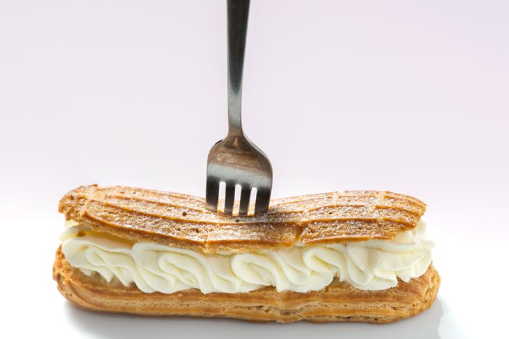 CHANTILLY - ecler cu vanilie și frișcă #frenchrevolutioneclairs