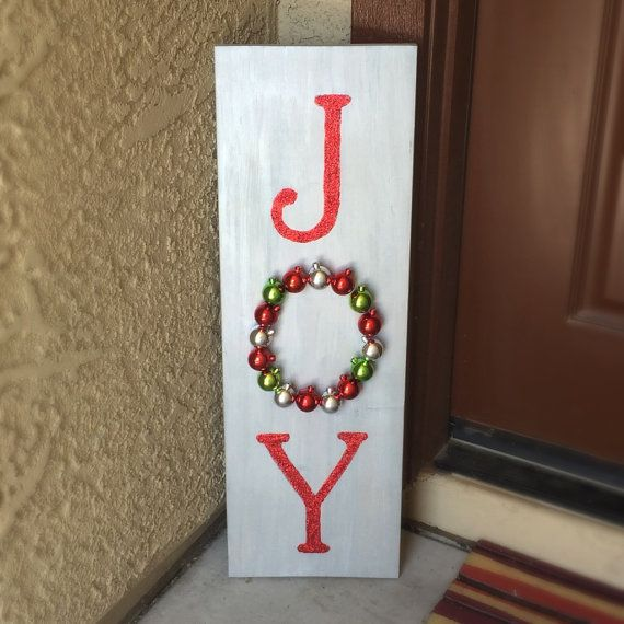 Diy Kit Create Your Own Wooden Joy Christmas Sign